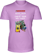 Keep Calm and Check Your Voltages - T-Shirt