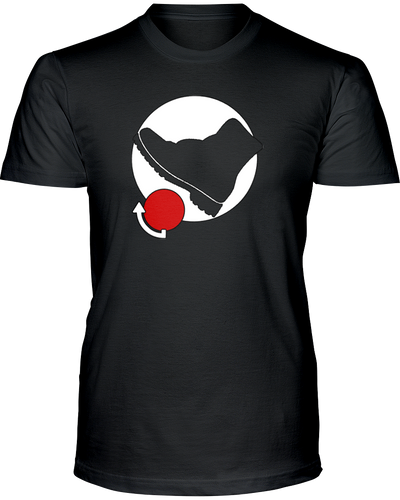 Fighting Video Game Kicking Move - T-Shirt