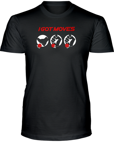 Fighting Game I Got Moves - Input T-Shirt