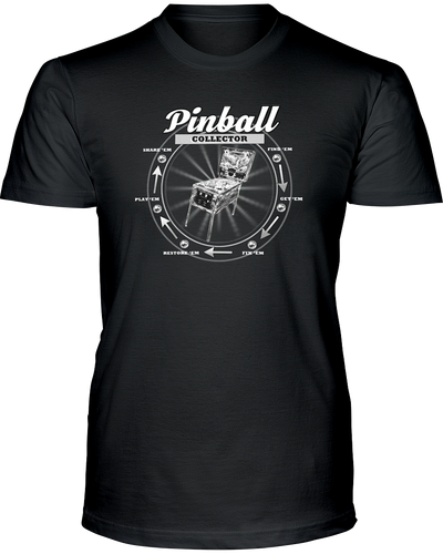 The Pinball Collector - T-Shirt Dark