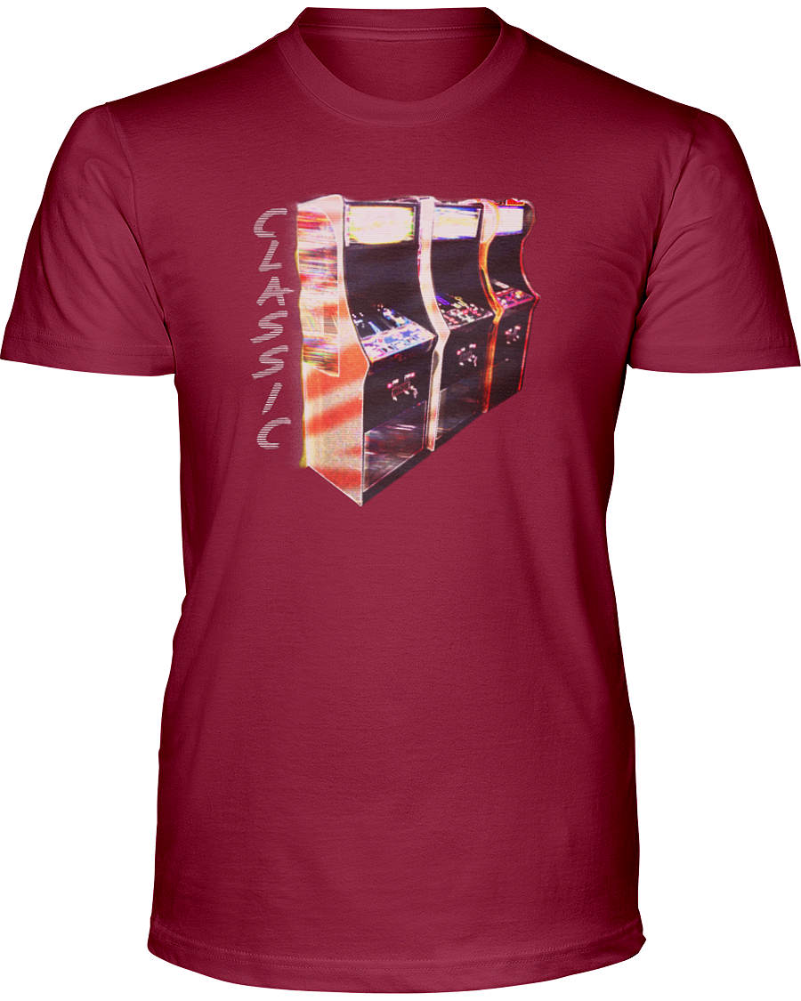 Classic Video Arcade Game T-Shirt