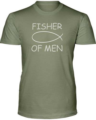 Fisher of Men - Men's Christian T-Shirt