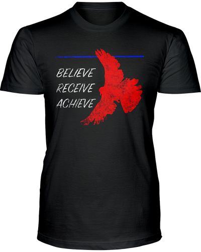 Believe Receive Achieve - Unisex Christian Faith T-Shirt - Alt