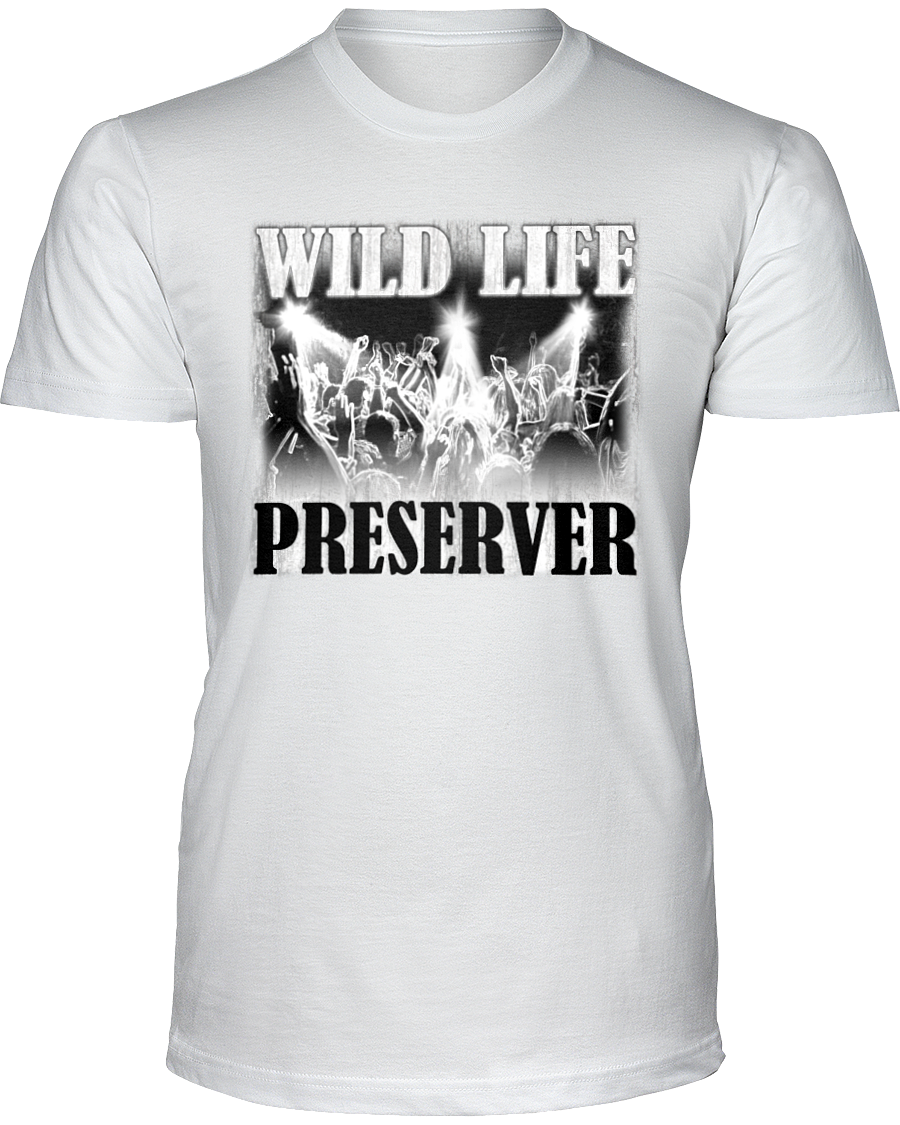 Wild Life Preserver - T-Shirt Light Colors