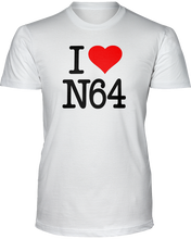 I Love N64 - T-Shirt - LIght Colors