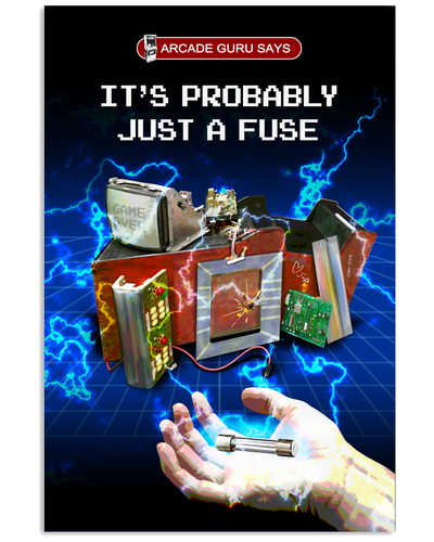 It's Probably Just A Fuse - Poster