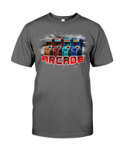Retro Video Arcade Game - T-Shirt Glow Version