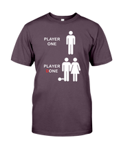 PLAYER ONE - PLAYER DONE - Video Gamer T-Shirt
