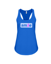 Sm;le - Smile Womens Tank Top