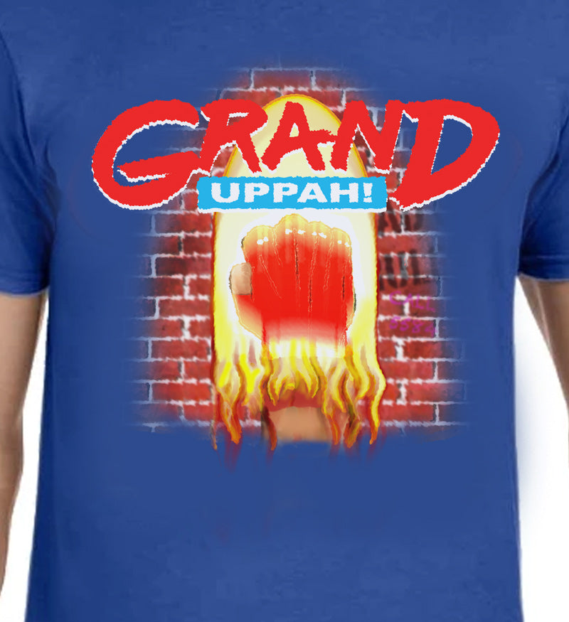 GRAND UPPAH! - T-Shirt Dark