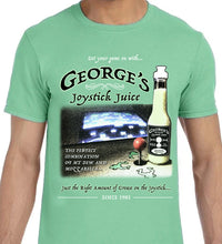 George's Joystick Juice - T-Shirt Alt