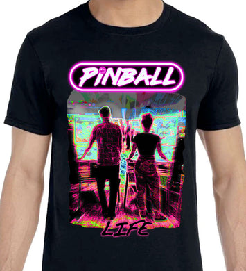 Pinball Life - Unisex Dark Colors T-Shirt
