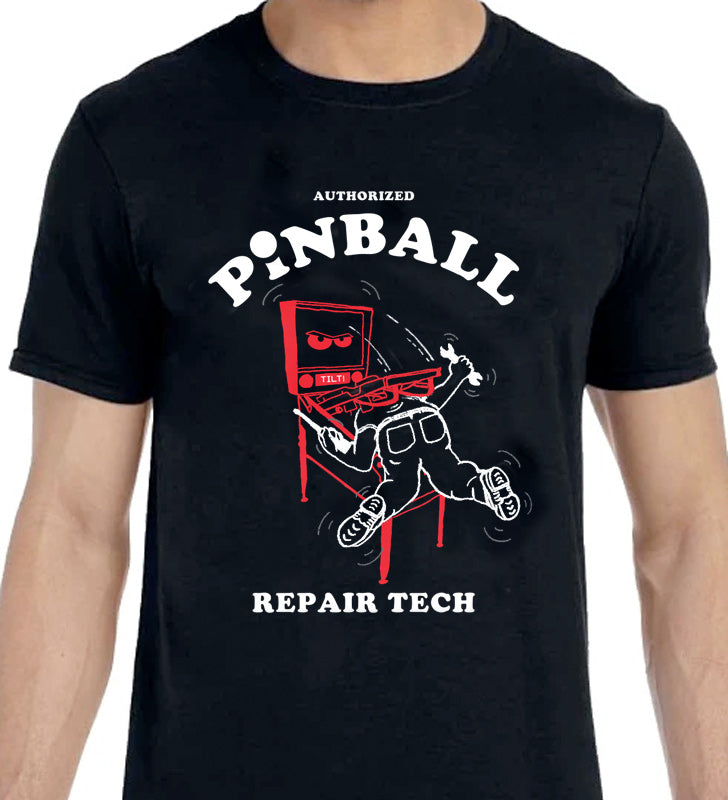 Pinball Repair Tech - T-Shirt