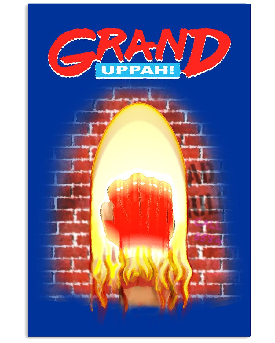 GRAND UPPAH! - Poster - Blue