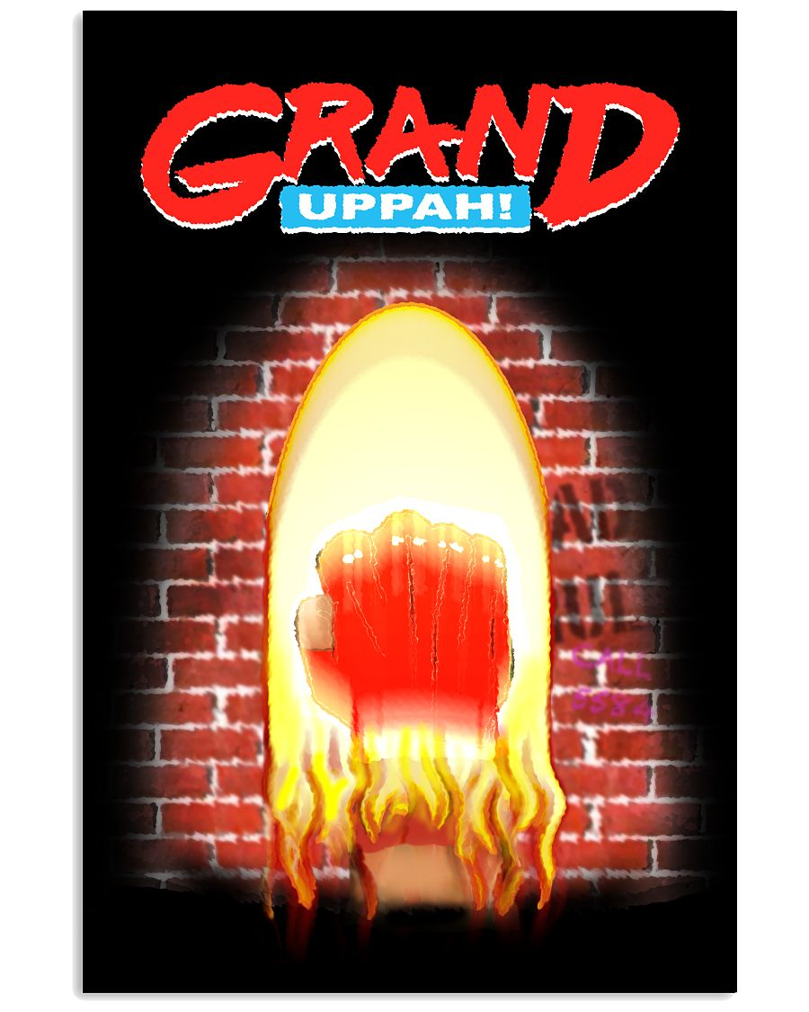GRAND UPPAH! - Poster - Black