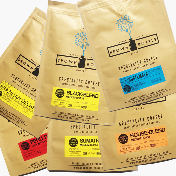 The Best Coffees Of The World - 6 x Coffee Sample Pack