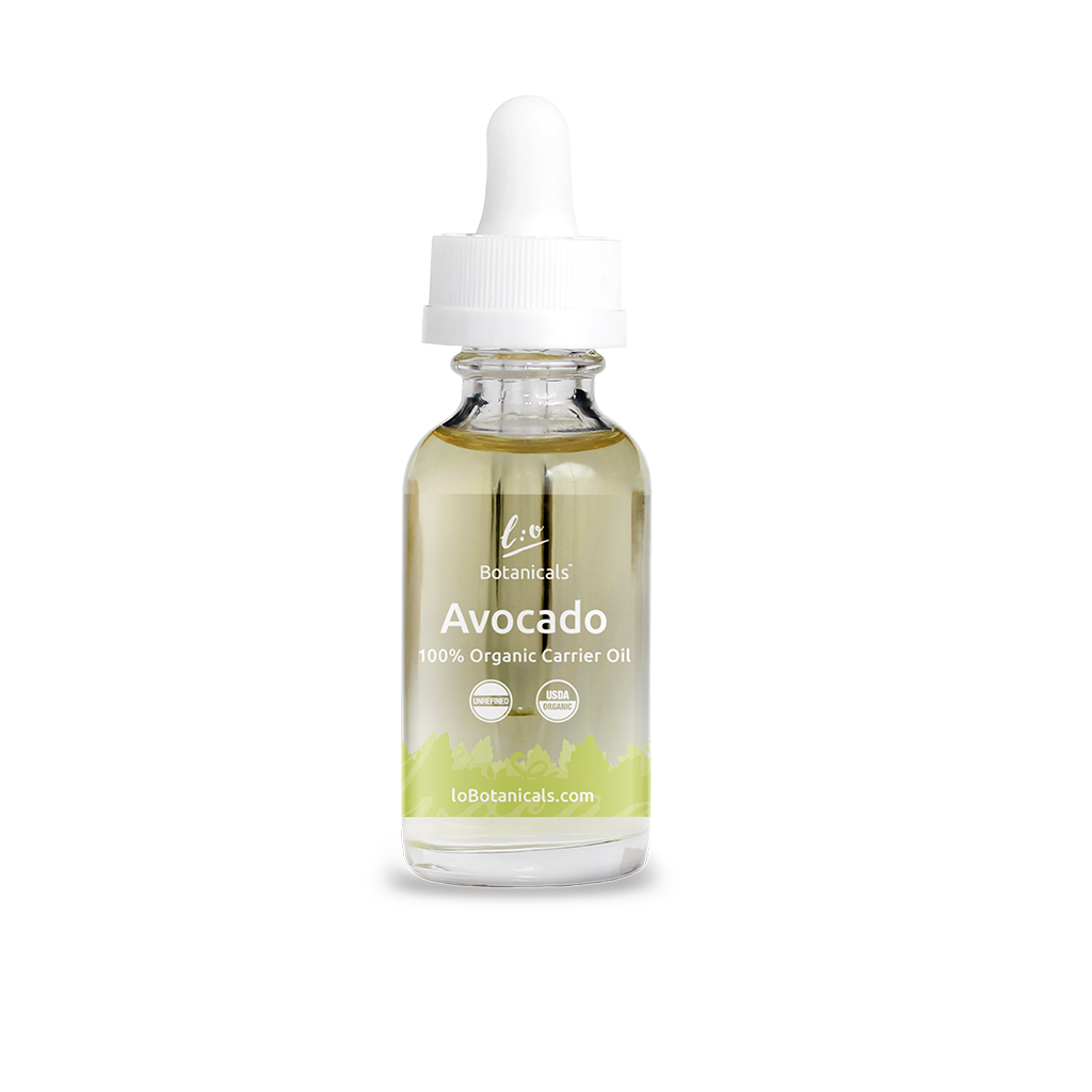Avocado Oil - 100% Unrefined Certified Organic