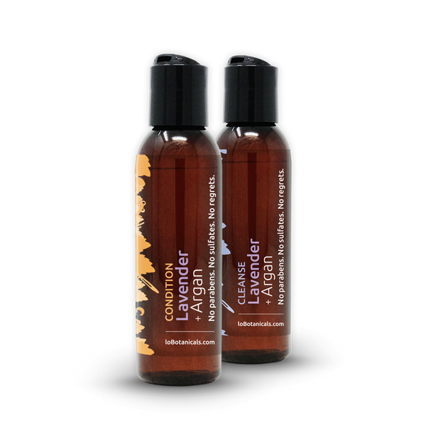 Lavender + Argan Shampoo & Conditioner