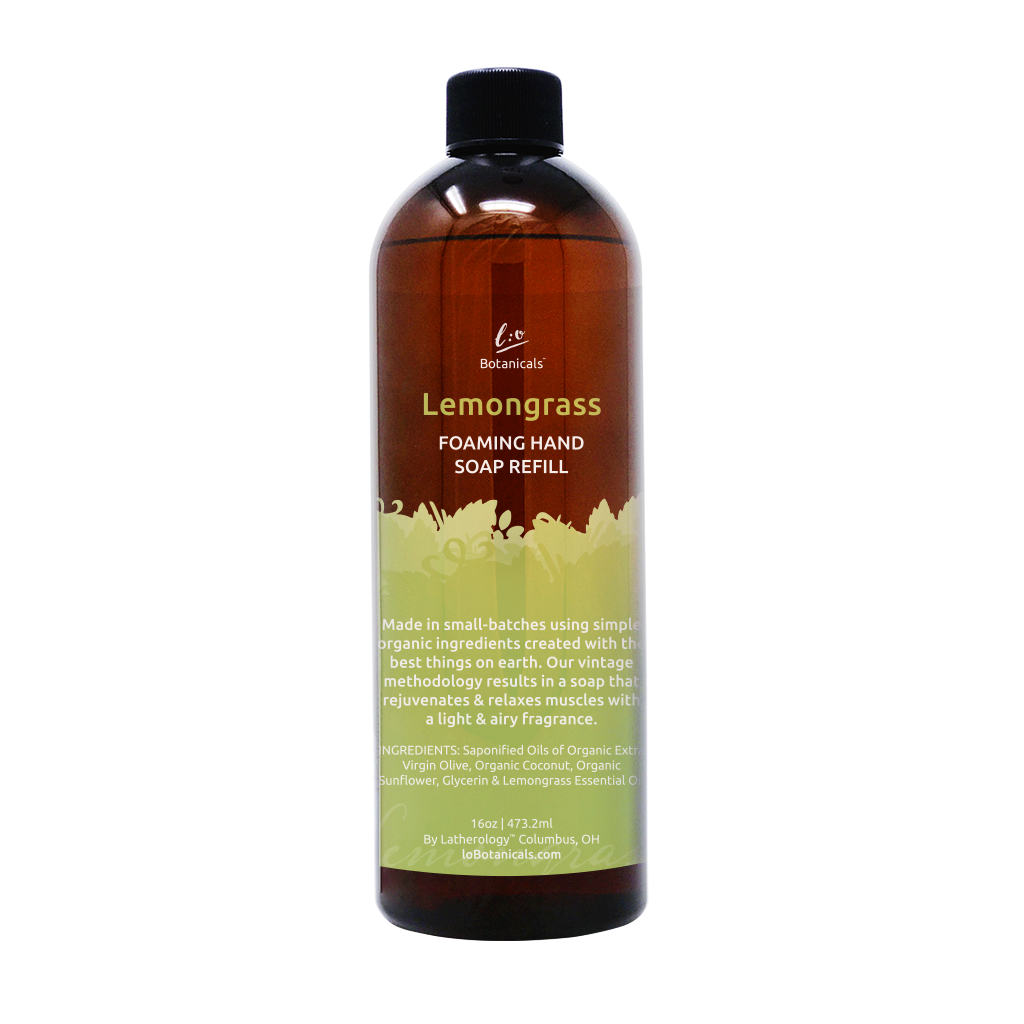 Lemongrass Foaming Hand Soap Refill
