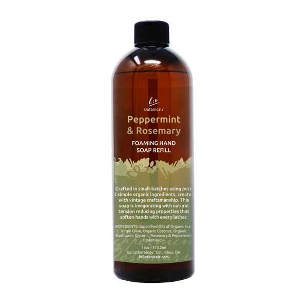 Peppermint & Rosemary Foaming Hand Soap Refill