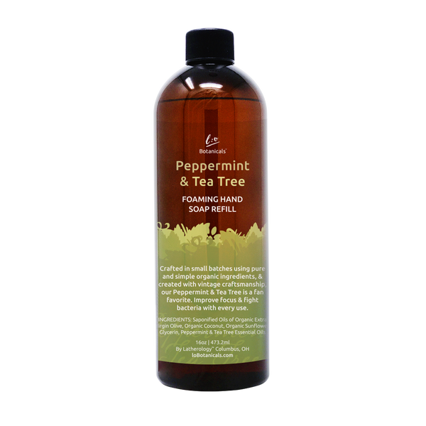 Peppermint & Tea Tree Foaming Hand Soap Refill