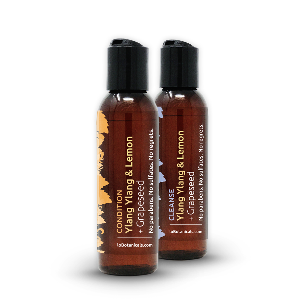 Ylang Ylang & Lemon + Grape Seed Shampoo & Conditioner