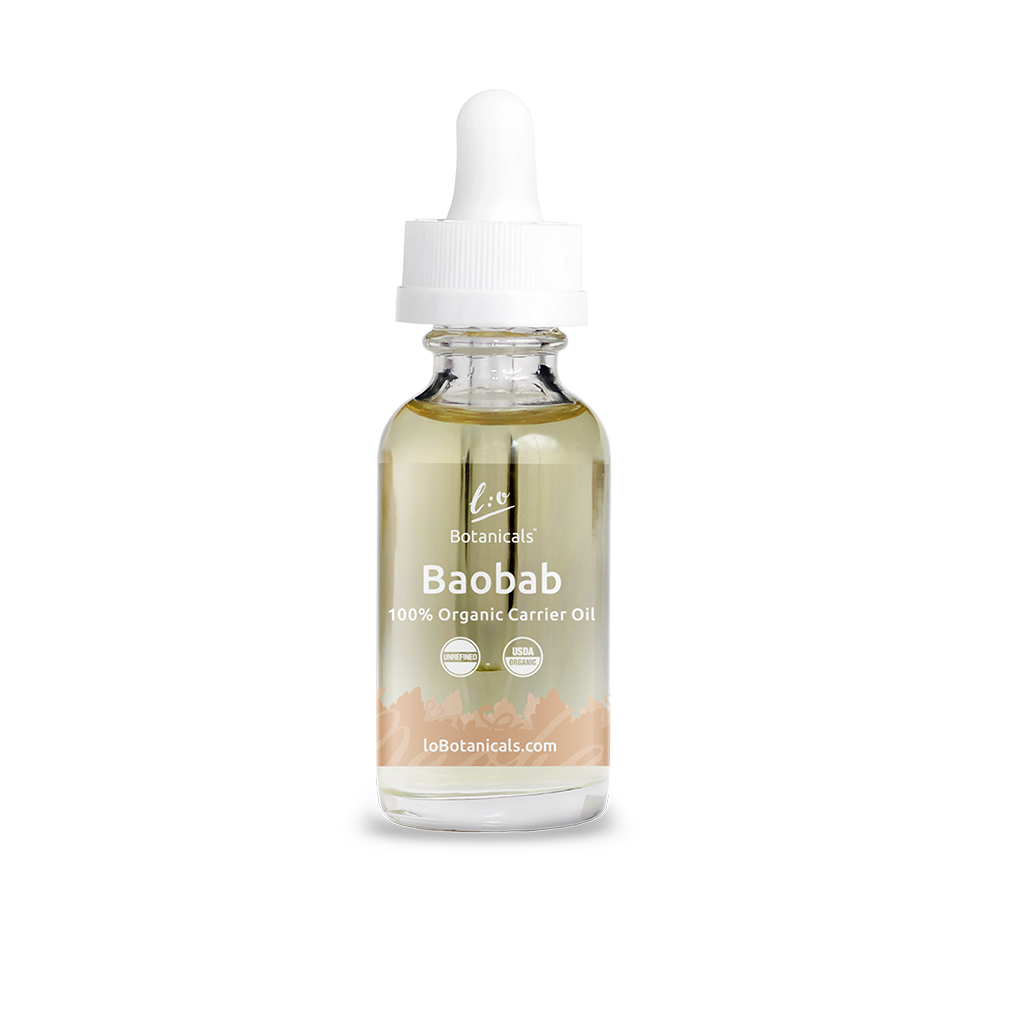 Baobab Oil - 100% Unrefined Certified Organic