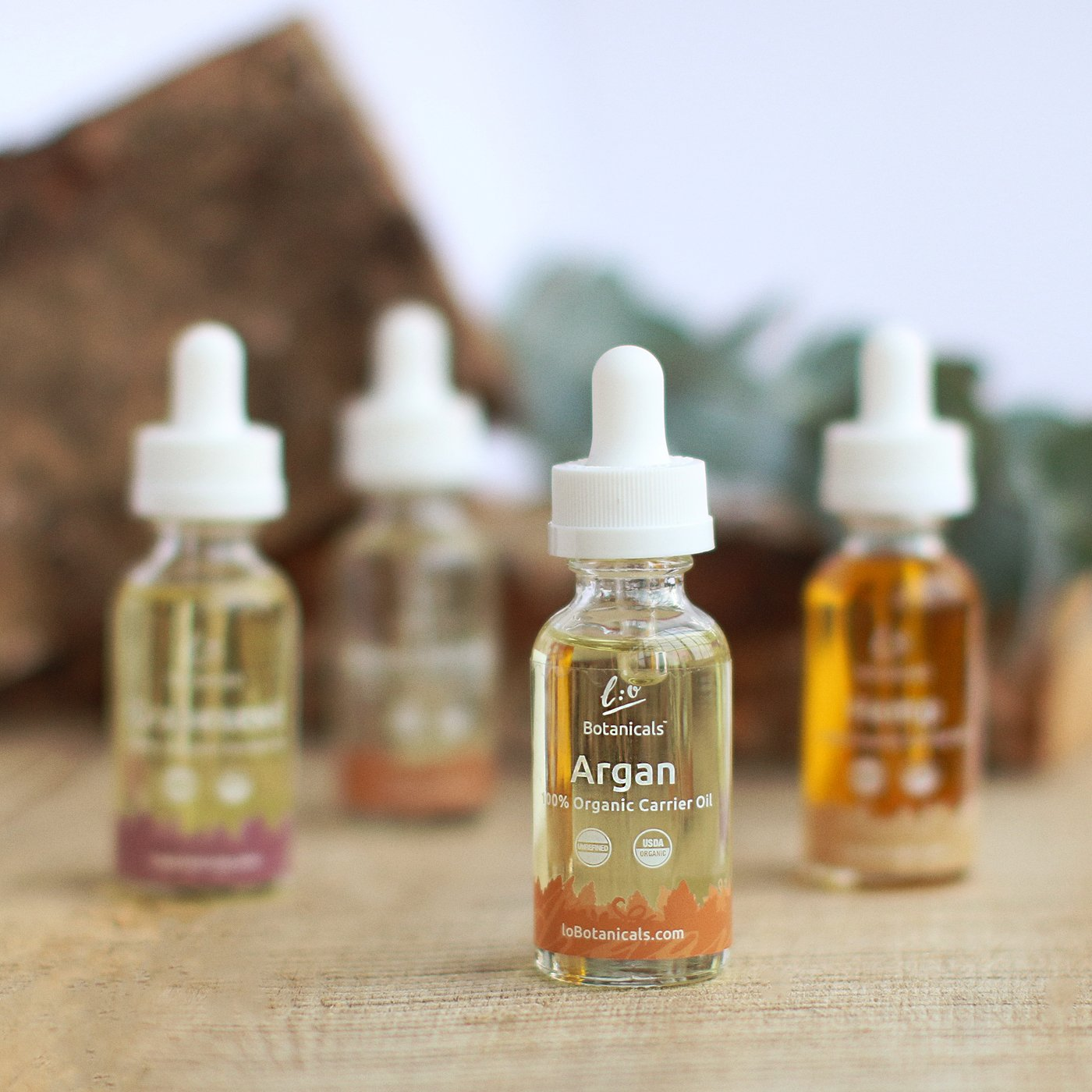 100% Unrefined Certified Organic Carrier Oils