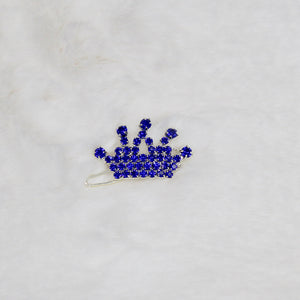 Crystal Crown Dog Barrette