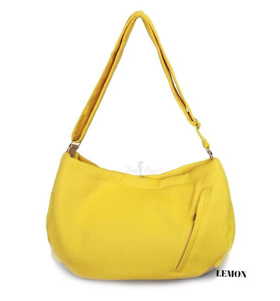 Vienna Luxury Messenger Sling Lemon