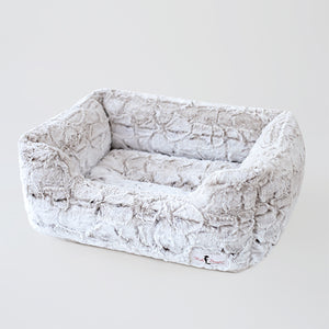 Animal Print Luxe Dog Bed