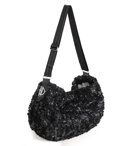 black, victorian, luxury, messenger, sling, pet, carrier, dog, doggie, hello, handcrafted, usa, comfort, products, fabulous,
