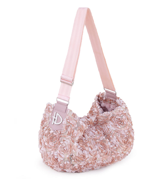 peach, victorian, luxury, messenger, sling, pet, carrier, dog, doggie, hello, handcrafted, usa, comfort, products, fabulous,