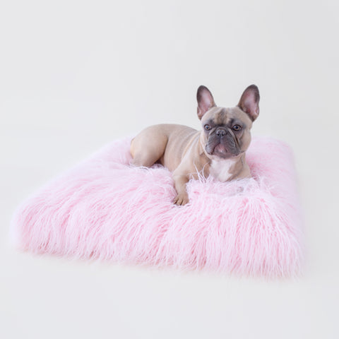 The Himalayan Yak Dog Mat: Ballerina Pink