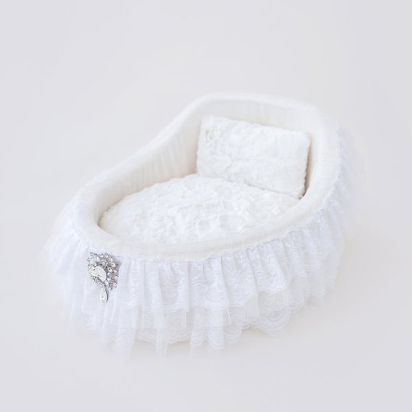 Crib Collection Dog Bed: Vintage