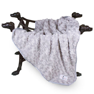 Baby Ruffle Dog Blanket