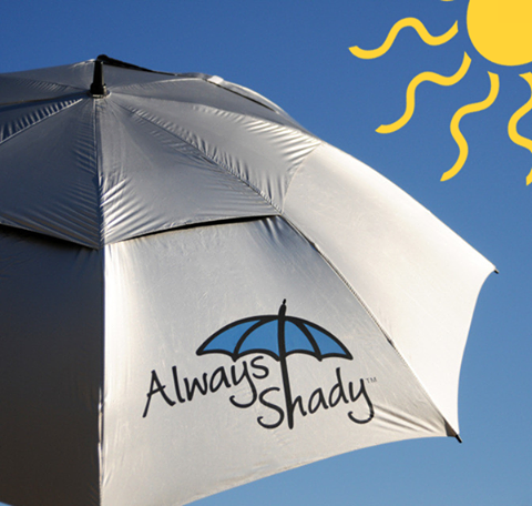 Always Shady Umbrella to Stay Protected From the Sun