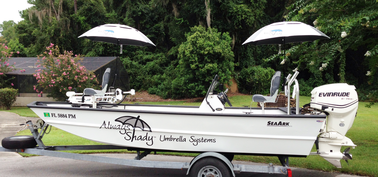 The Best Boat Umbrella | Always Shady Umbrella Systems