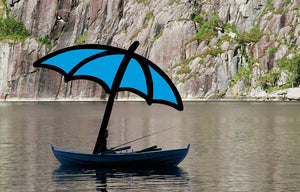 Always Shady Row Boat/Jon Boat Umbrella System | Always Shady Umbrella Systems