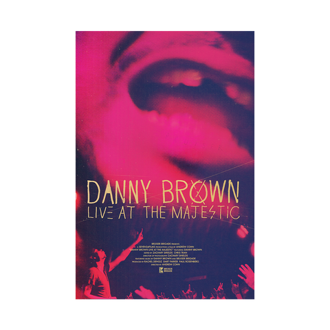 Danny Brown: Live at the Majestic Documentary (Stream or Download)
