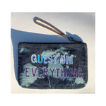 ART LOVE DREAM DENIM POUCH