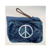 PEACE DENIM POUCH