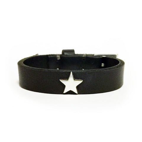 CHEZ STAR CUFF - Black Veg