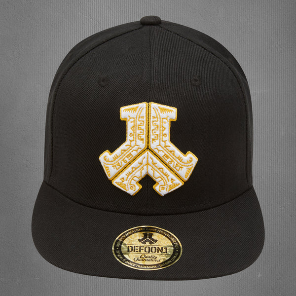 Defqon.1 snapback cap, tribal black