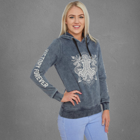 Defqon.1 victory forever hooded sweater, women