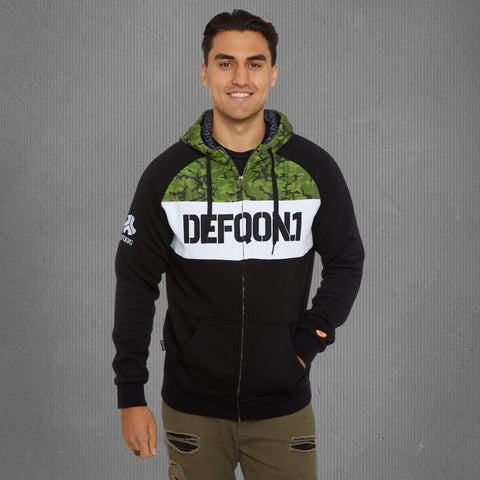 Defqon.1 zip-up warrior hoodie, men