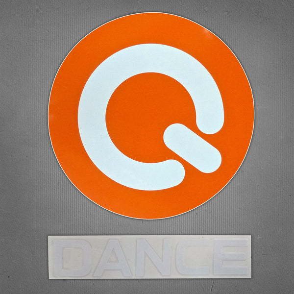 Q-dance decal car sticker