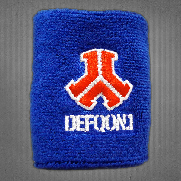 Defqon.1 sweatband, blue