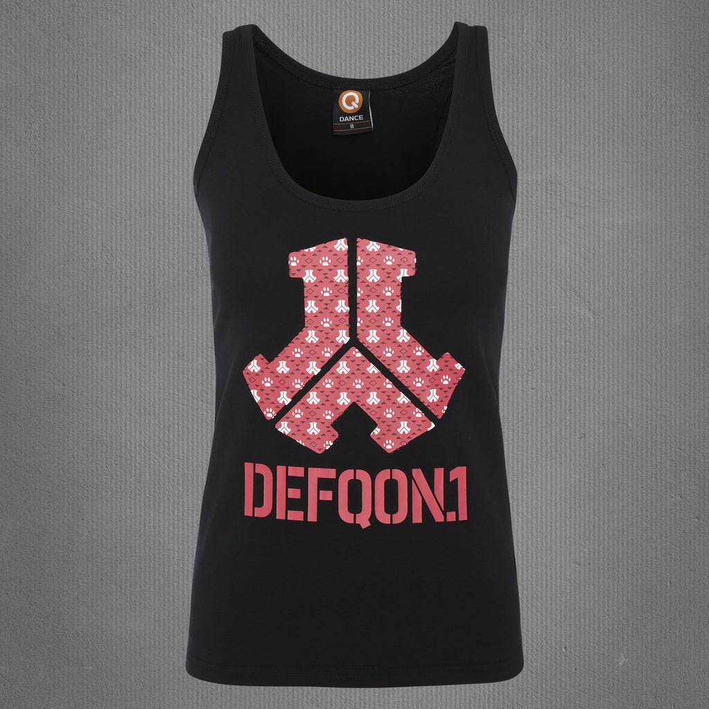 Defqon.1 tank top black, women
