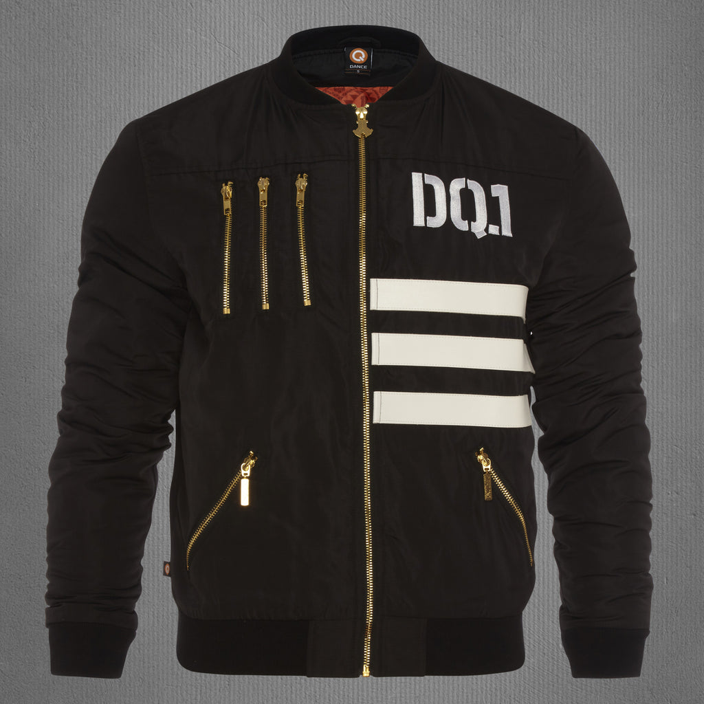 Defqon.1 deluxe limited edition bomber jacket black, women